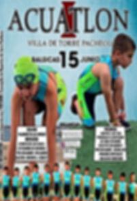 Cartel I Acuatlon 2019 Sin Patrocinadore