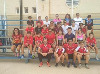 Veintitrés triatletas participan en la Concentración de Menores en el CAR Infanta Cristina