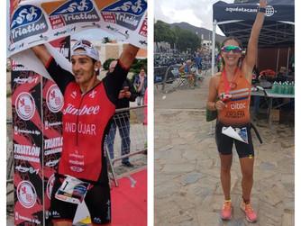 Andújar y Jorquera, Campeones Regionales de Triatlón MD