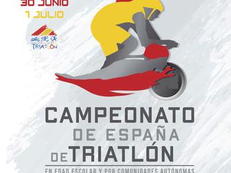 Plan de Viaje Campeonato de España de Triatlón por Autonomías. Badajoz.