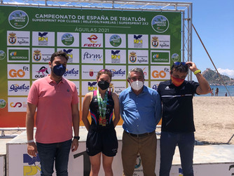Águilas, epicentro del triatlón nacional, con el Cidade de Lugo Fluvial como gran triunfador