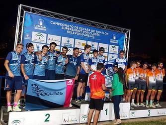 Finaliza la Liga Nacional de Triatlón con los Campeonatos de España Súpersprint por clubes y por rel