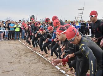 Los triatletas murcianos brillan en Valencia