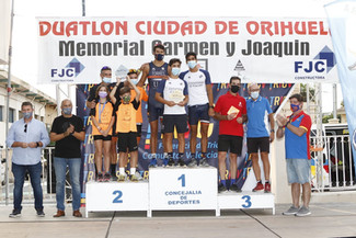 Celebrada la quinta jornada de la Liga Regional de Duatlón en el XVIII Duatlón La Murada-Orihuela