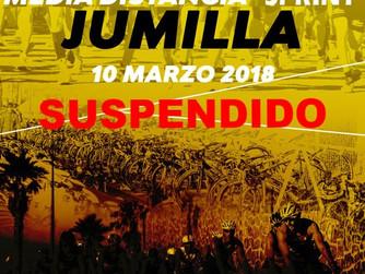 Suspendido el II Duatlón Ciudad de Jumilla