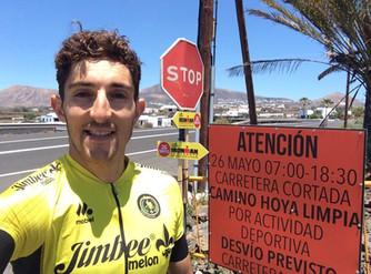 Pedro José Andújar, sexto en el Ironman de Lanzarote