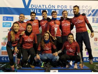 Águilas Primaflor conquista los Campeonatos Regionales de Duatlón por Equipos contrarreloj