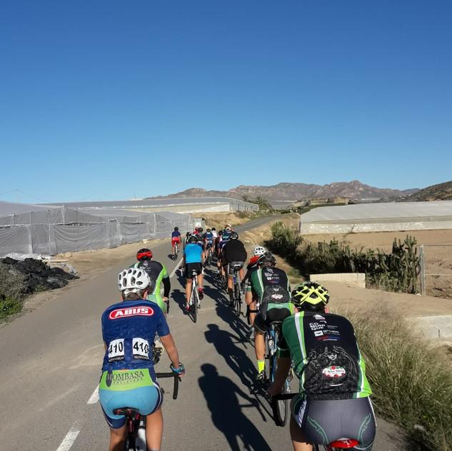 Salida de Ciclismo