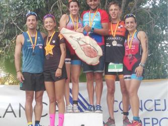 Andrea Marco y Bienvenido Ballester triunfan en Blanca