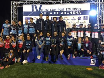 Águilas Primaflor y Tragamillas Ciclos Vicea-Mercaluz se proclaman Campeones Regionales de Duatlón p