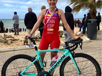 Laura Durán convocada para el Campeonato de Europa de Triatlón Júnior