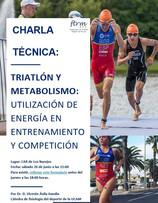 Charla técnica sobre Triatlón y Metabolismo