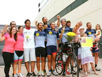 El proyecto 'En bicicleta contra el cáncer' estará presente en Águilas en la Copa del Rey y