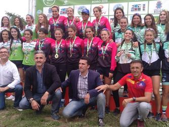 Natalia Hidalgo y Laura Durán, en lo más alto del Nacional de Triatlón por Clubes