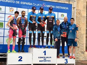 Bronce para el Águilas Primaflor en el Campeonato de España de Duatlón de Media Distancia