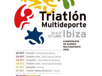 Campeonatos de Europa Multideporte Ibiza