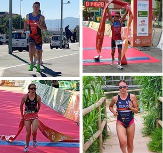 El triatlón murciano recoge buenos resultados en el clasificatorio para el Campeonato de España