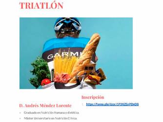 Alimentación en el Triatlón Viernes 1 de Mayo
