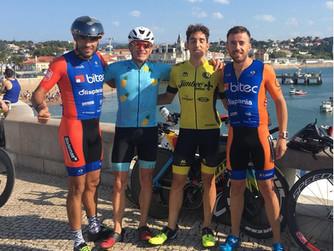 Sobresaliente participación de los triatletas murcianos en el IM 70.3 de Cascais