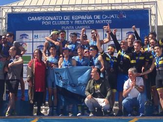 Águilas Primaflor reina en el Nacional de Clubes de Duatlón en Punta Umbría