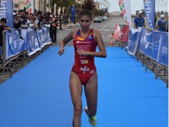 La triatleta del Tritones Murcia Sport Club, Paula Sánchez García, única española en la Copa de Áfri