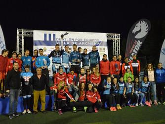 Murcia Unidata y Águilas Primaflor, Campeones Regionales de Duatlón por Equipos