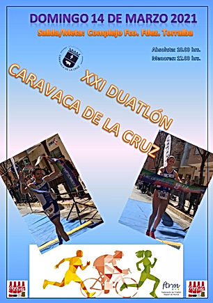 CARTEL XXI DUATLON CARAVACA -vertical-.j