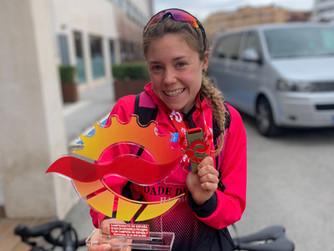 Natalia Hidalgo y Nieves Navarro se proclaman Campeonas de España de Duatlón Contrarreloj por Equipo
