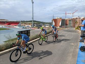 Varios clubs y deportistas murcianos participan en los Campeonatos de España de duatlón súper sprint