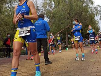 Alejandro Alarcón y Paloma Sánchez, Campeones Regionales de Duatlón