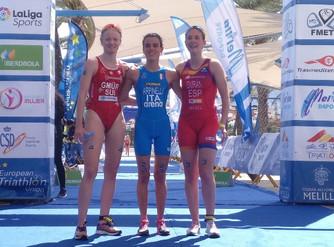 Laura Durán, Bronce en la Copa de Europa de Triatlón Júnior