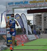 La FTRM corona a los campeones regionales de duatlón juvenil y cadete en Águilas