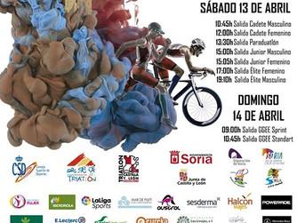 Un gran elenco de murcianos acuden a Soria este fin de semana para participar en el Campeonato de Es