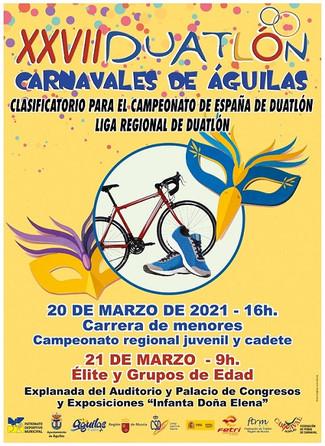 La FTRM arranca la temporada con el XXVII Duatlón Carnavales de Águilas