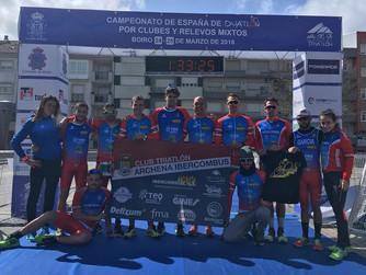 Arranca la Liga Nacional de Duatlón con representantes murcianos en 1ª y 2ª división