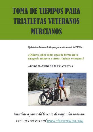 Toma de tiempos para federados veteranos de la Ftrm 16 de Mayo