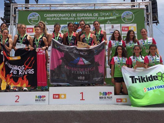 Medallas de Plata para Marina Martínez y Mabel Gallardo y de Bronce para Laura Durán en el Nacional