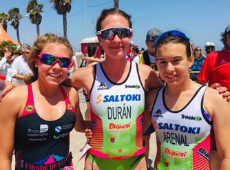 Laura Durán y Natalia Hidalgo representarán a España en la Copa de Europa de Triatlón Júnior
