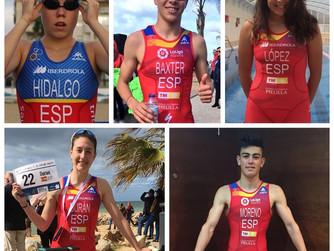 Cinco triatletas murcianos compiten este domingo en la Copa de Europa de Triatlón