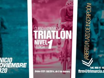Convocatoria curso de entrenador de triatlón nivel 1 Febrero / Marzo 2021