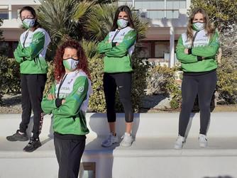 Cuatro deportistas de la FTRM participan en el programa Amazonas