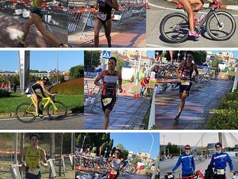 Destacable participación de la cantera murciana en el Campeonato de España de Triatlón Sprint