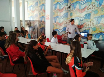 Concentración de Escuelas de Triatlón (cadete e infantil) en Calarreona