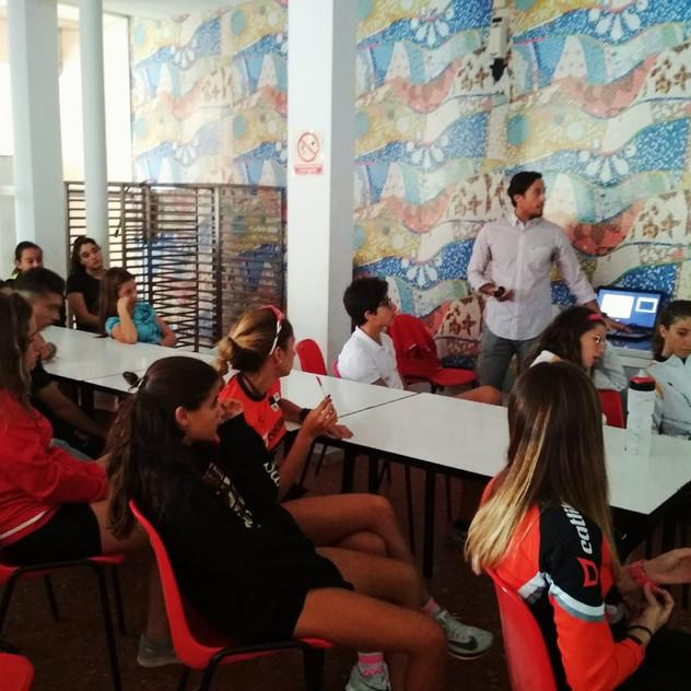 Charla de nutrición deportiva con Andrés Méndez