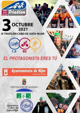 Campeonato Regional de Media Distancia, IX Triatlón Cabo de Gata-Níjar