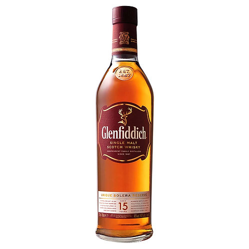 Whisky Glenfidich 15- Incluye Cata Virtual