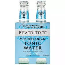 Tonica Fever Treee Mediterranean 4 pack
