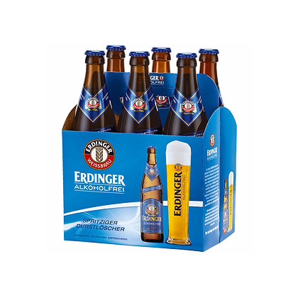 Cerveza Erdinger Alcohol Free 6 pack