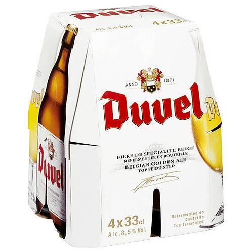 Cerveza Duvel 4 pack