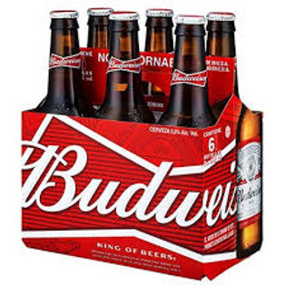 Cerveza Budweiser  6 pack